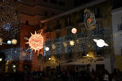 luci artista Salerno