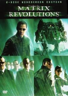 Carátula Matrix Revoluciones película dvdrip latino