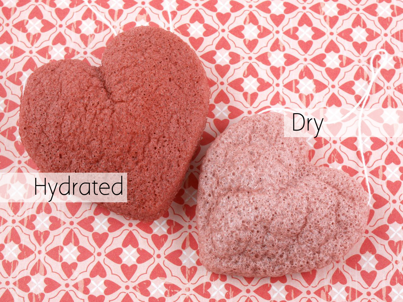 Sephora Clean Machine Konjac Sponge Duo Love Me: Pink and Red Clay: Review