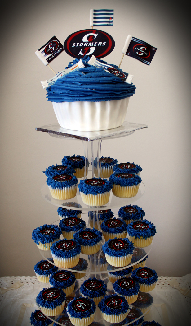 Delana S Cakes Super Rugby Stormers Cupcakes