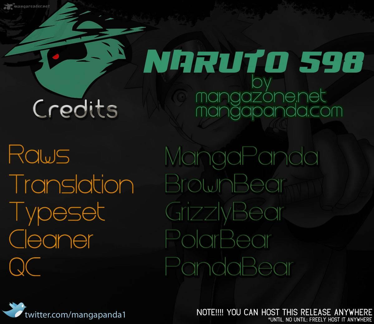 Naruto - Chapter 598 - Pic 20