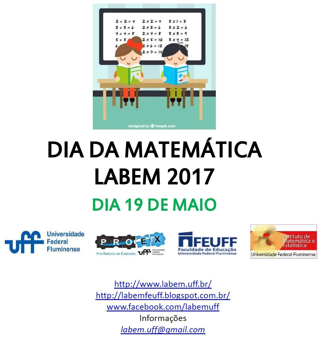 DIA DA MATEMÁTICA 2017