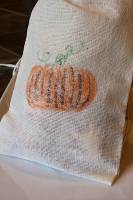 Crayon Transfer Treat Bag