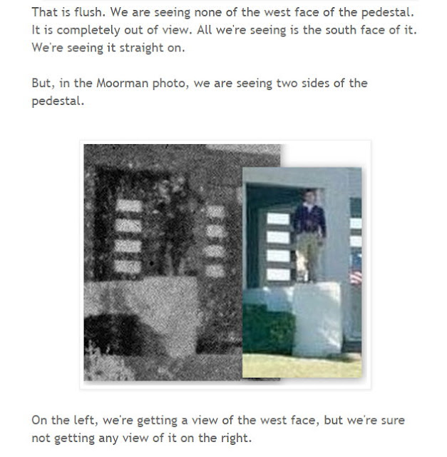 Oswald Innocence Campaign founder Ralph Cinque continues to tell lies about the Moorman photo