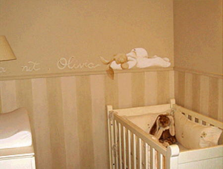 Decoraci n decoracion decorar la habitaci n de un beb - Decorar habitacion infantil nino ...