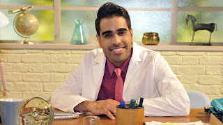 Dr Ranj on his CBeebies show Get Well Soon