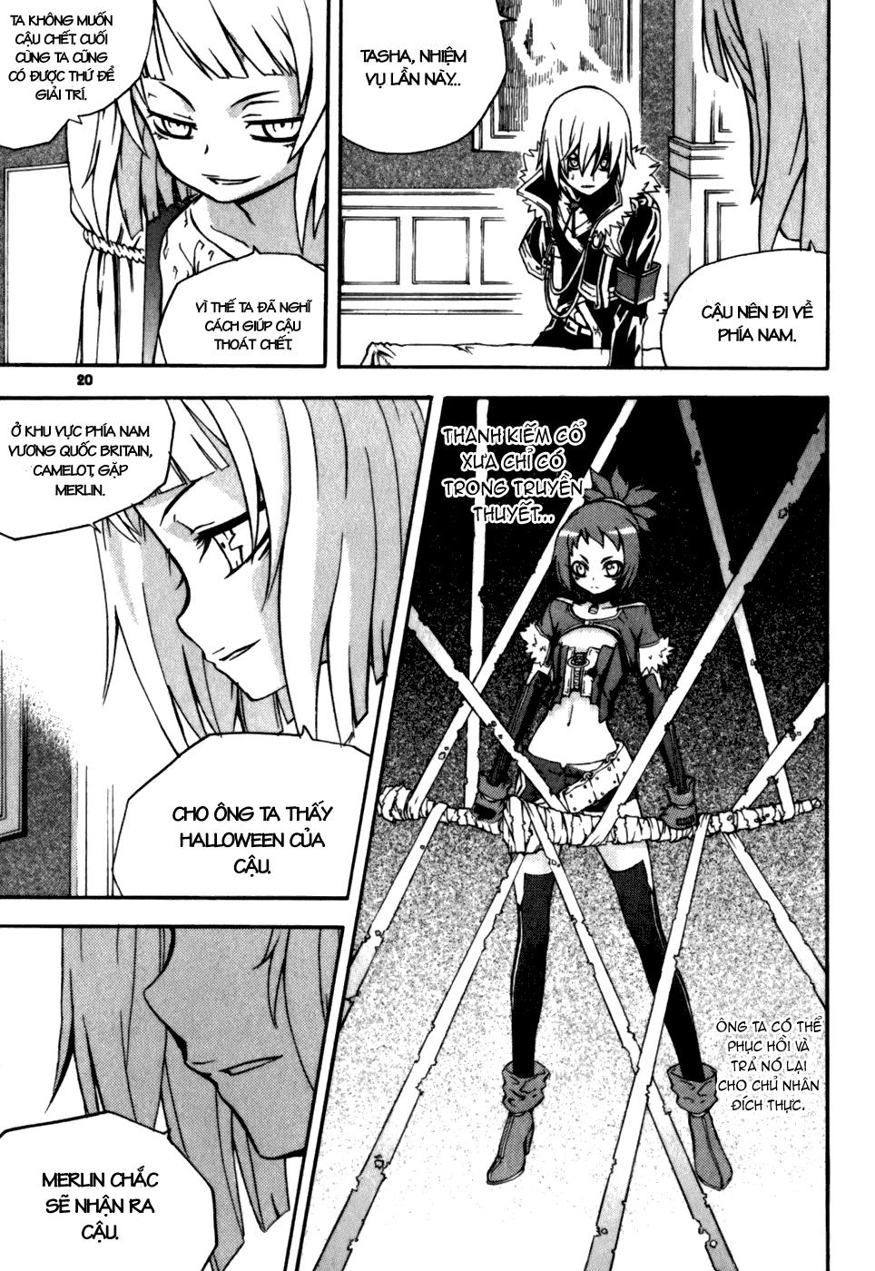 Witch Hunter – Thợ Săn Phù Thủy chap 17 Trang 21 - Mangak.info