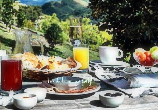 Café da Manhã, casa da mama