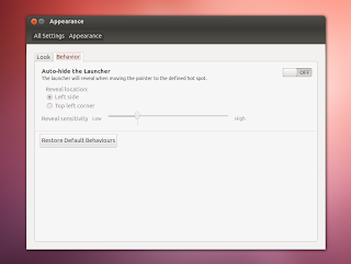 ubuntu12.04 appearence settings Ubuntu 12.04 LTS Precise Pangolin Released, Lets Download and Install it