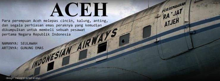 Gambar Kronologi FB: Pesawat Seulawah