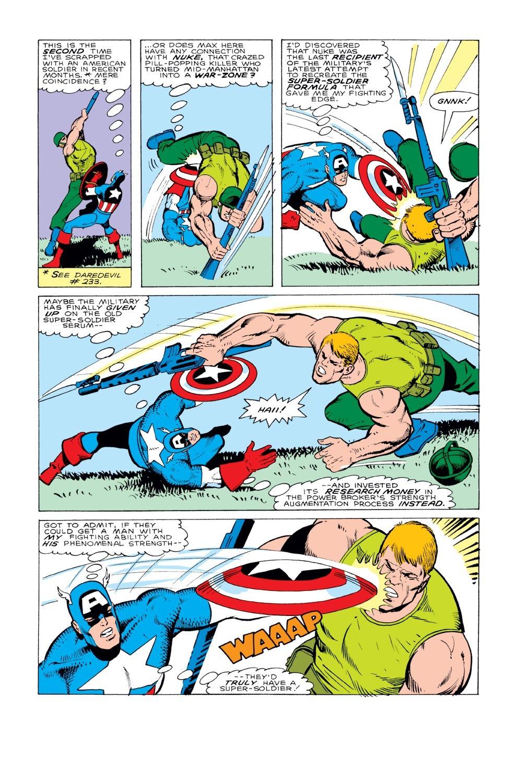 Captain America (1968) Issue #331 #260 - English 20