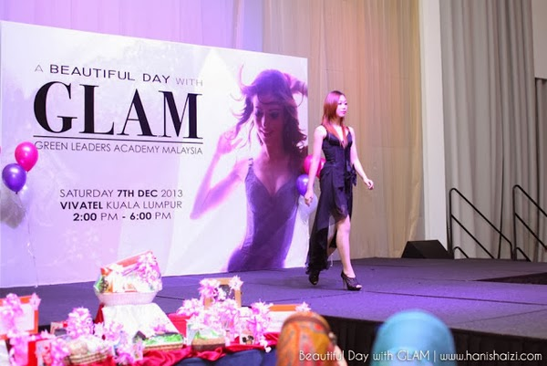 Catwalk in A Beautiful Day with GLAM and comapany Hai-O Marketing