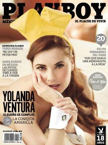 Revista PlayBoy México (Yolanda Ventura) [Abril/2013] PDF HQ & JPGE