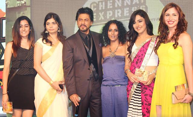 Celebrities at chennai express music lanuch