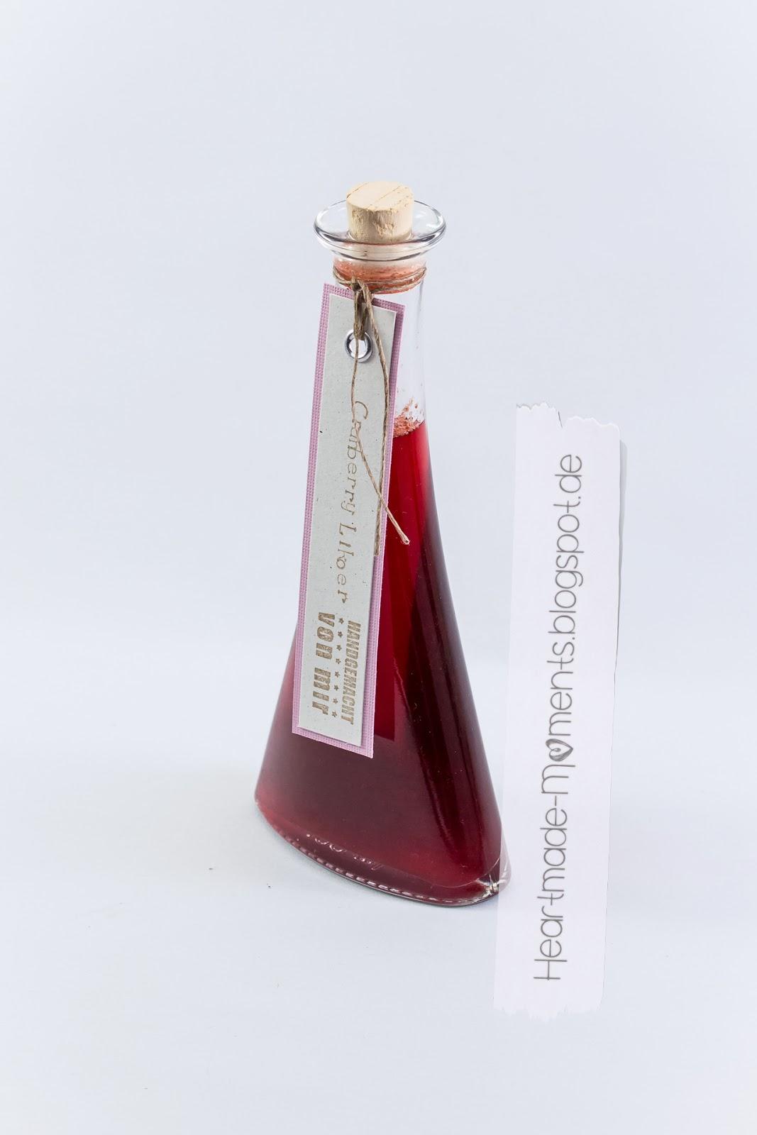 Cranberry Likör