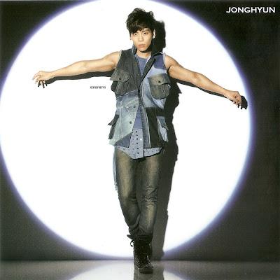 Jonghyun Shinee Dazzling Girl album image scan