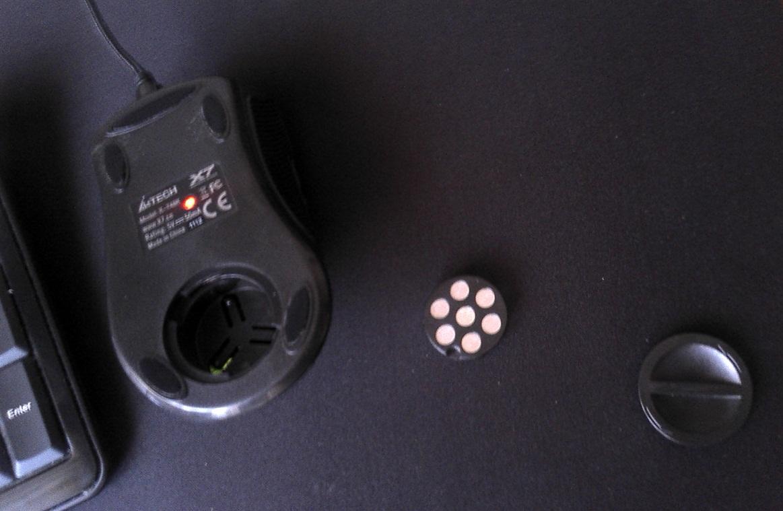 Мышка a4tech x-718bk usb black