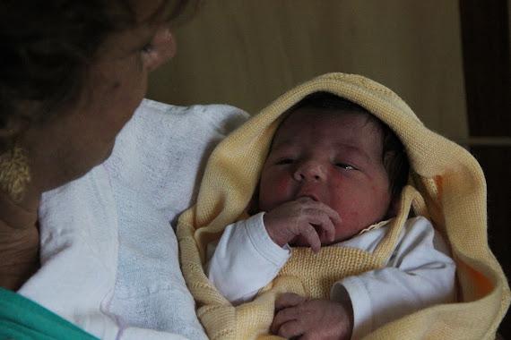 Gabriel chegou em 20/01/2012