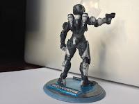 Sandboxr 3D Printed Halo 5 Spartan anubis venture female back