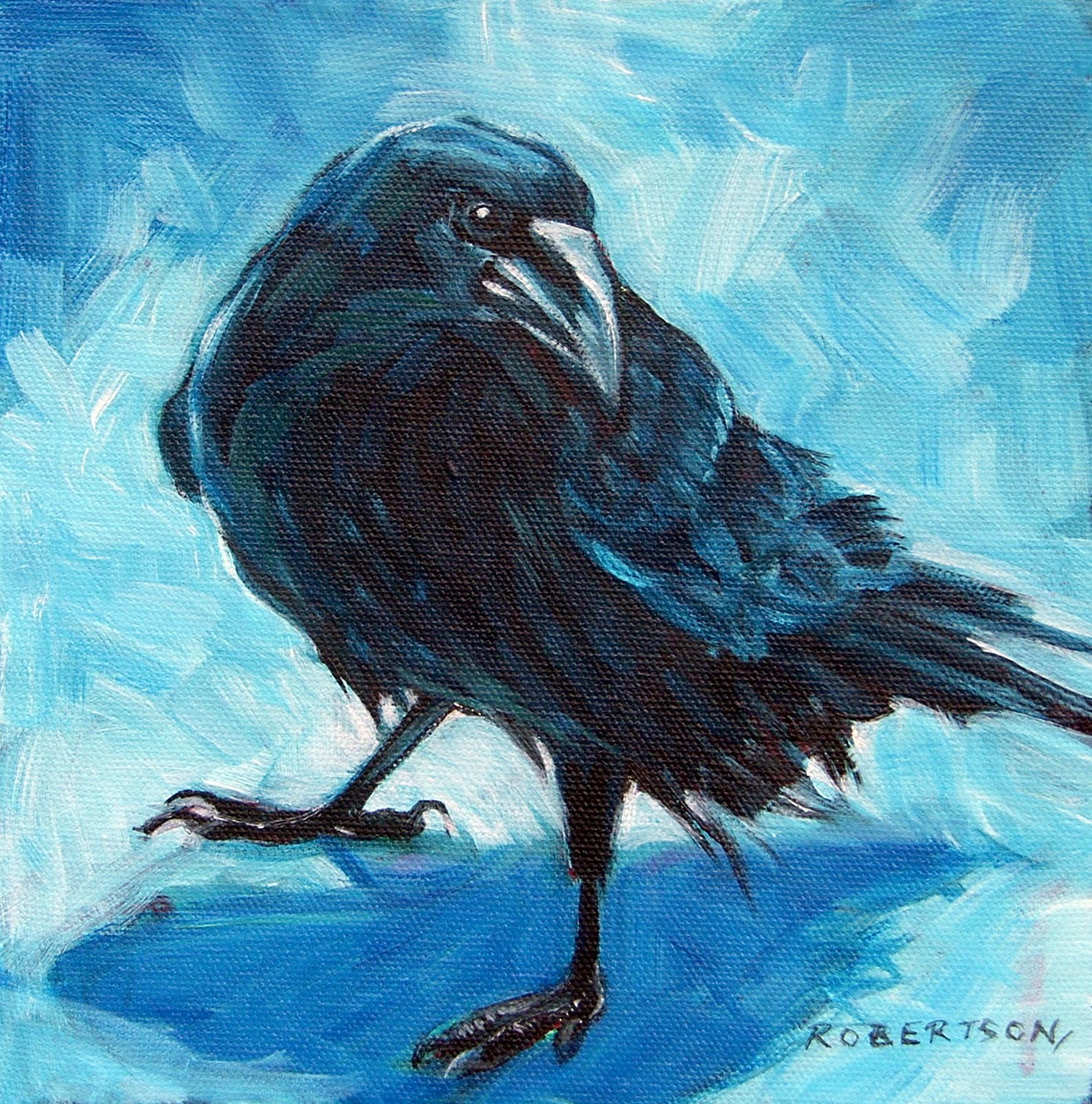 The gallery for --> Raven Drawing