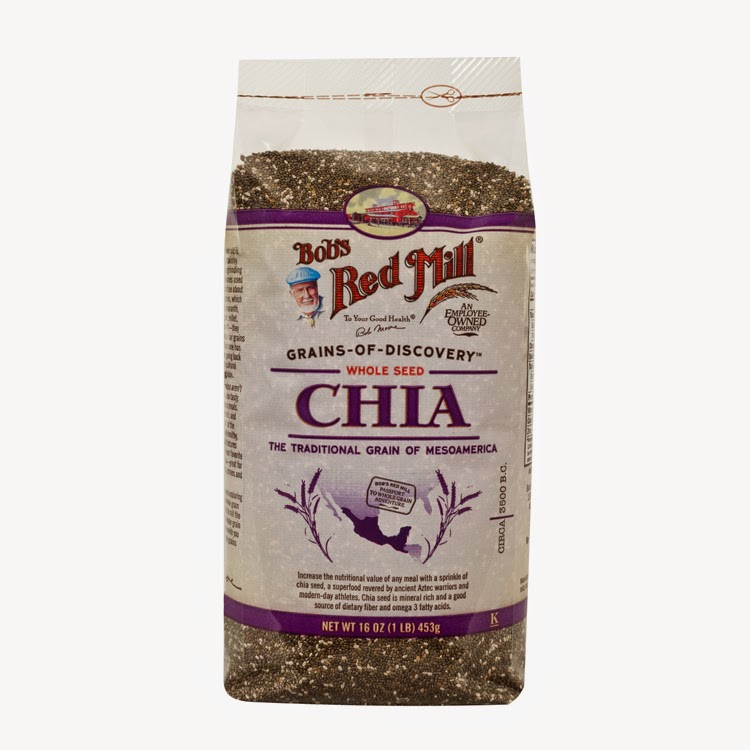 Super Seeds giveaway -- seed pack from Bob's Red Mill