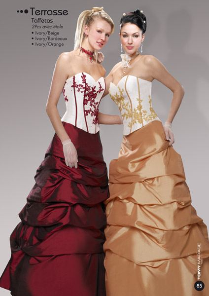 Red and gold wedding dresses | Modern Wedding Dress And Wedding ...