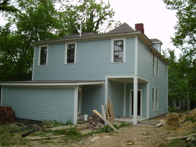 Revival on vance exterior paint for Benjamin moore historical colors exterior