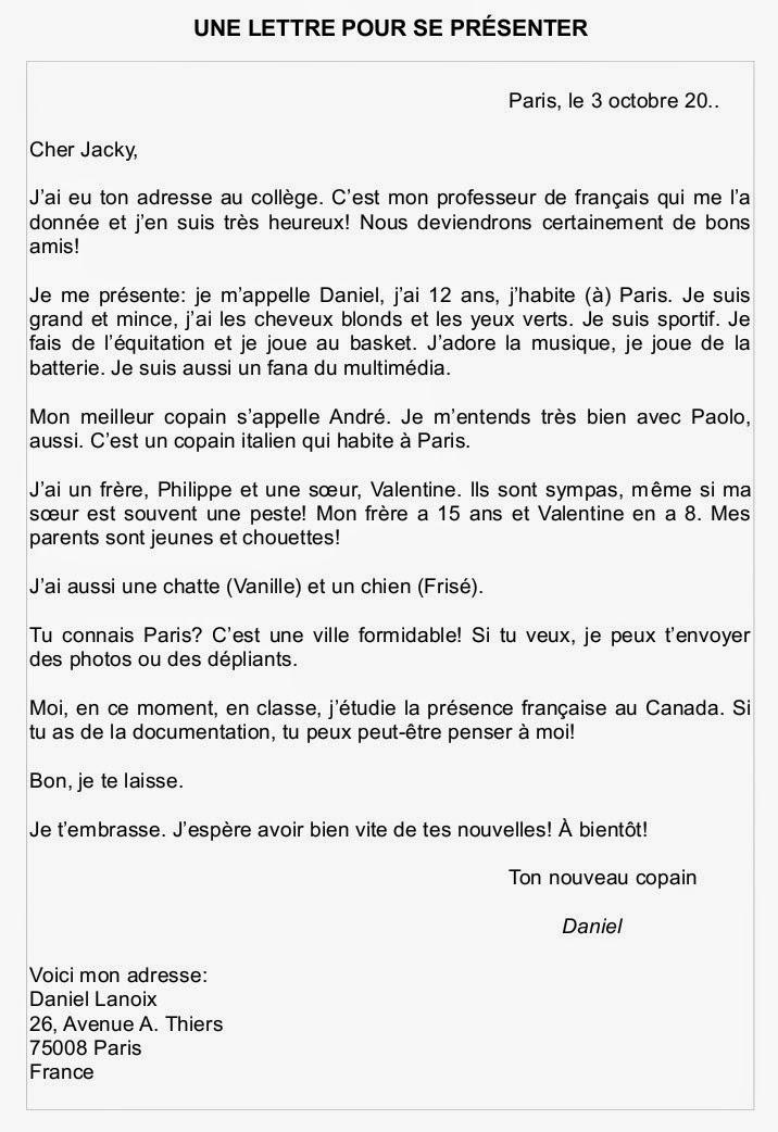 Le Francais Mon Amour Se Preparer A L Examen Ecrit Exemples De