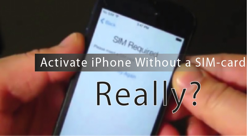 ACTIVATE IPHONE 4S WITHOUT SIMCARD - YouTube