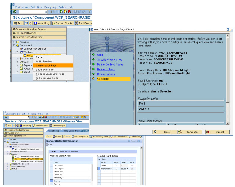 Screenshot from the EHP1 features presentation showing the wizard features