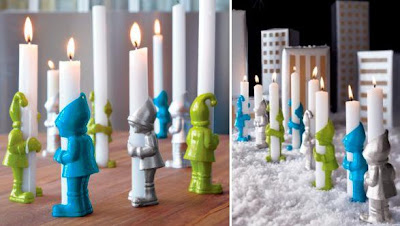 Creative Tealights and Unusual Candle Holder Designs (15) 11