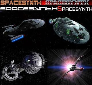 Spacesynth űrszintetizátor zenék