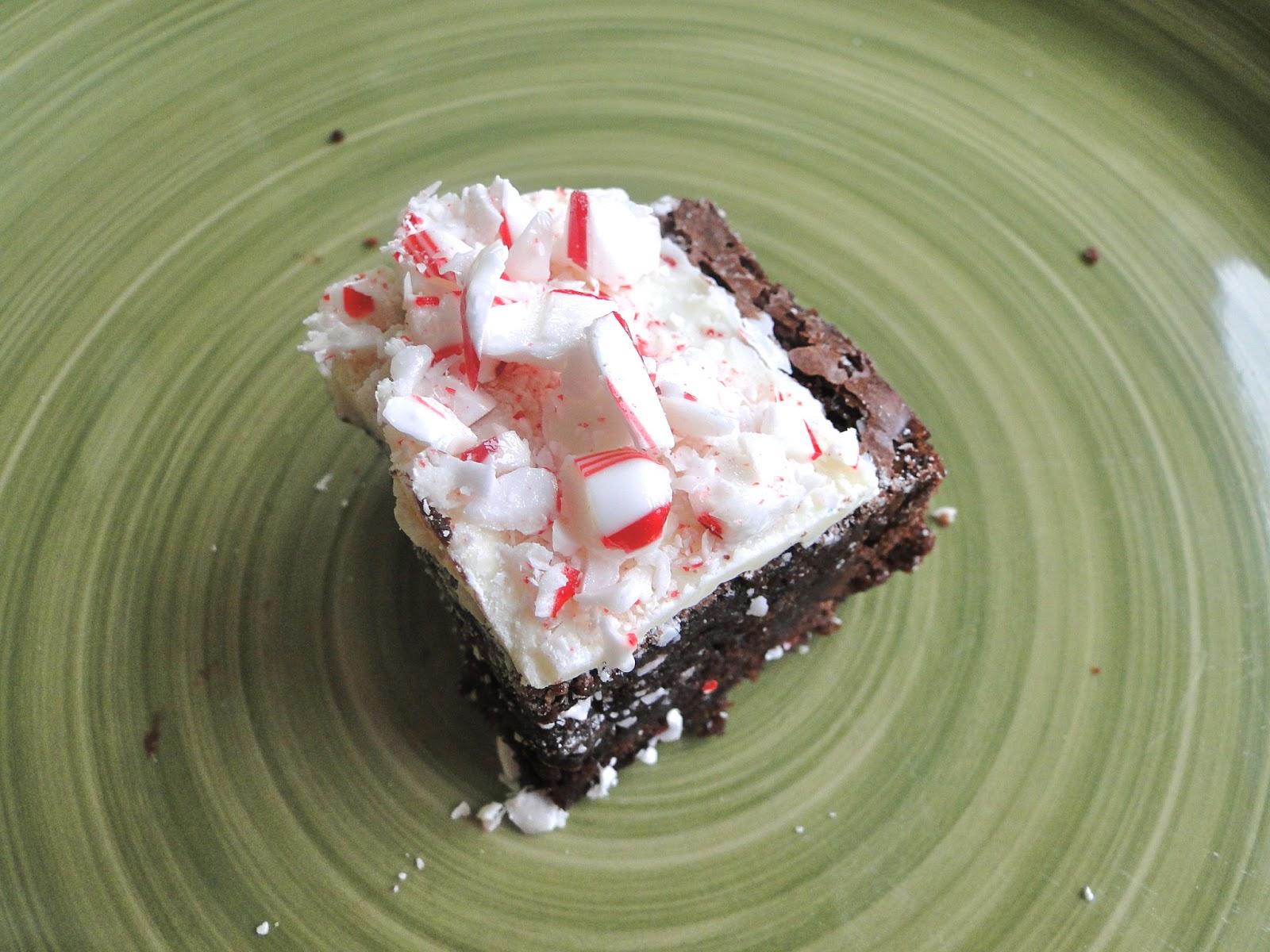 Tar Heel Taste Bud: Peppermint Crunch Brownie Bites