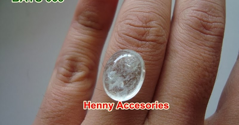 Batu # Kecubung Air 009 Rp. 125.000 - Henny Accesories