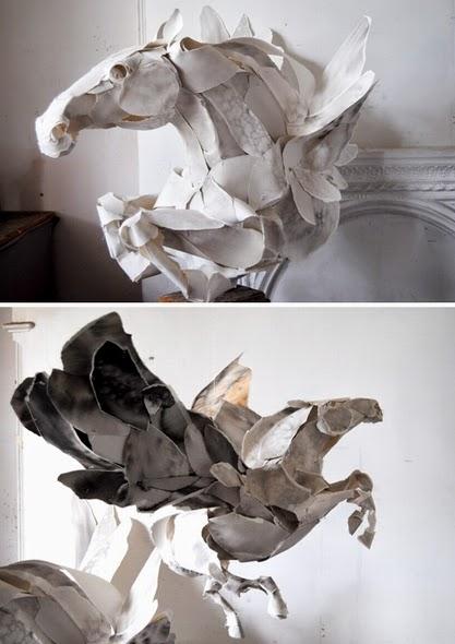 Esculturas, Papel, Hermes