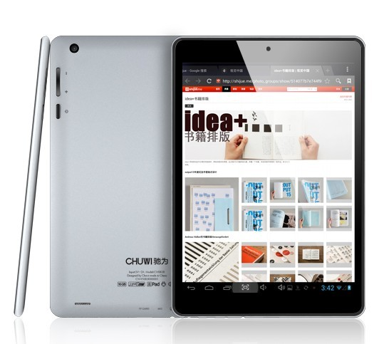 dual camera of CHUWI MINI Pad V88