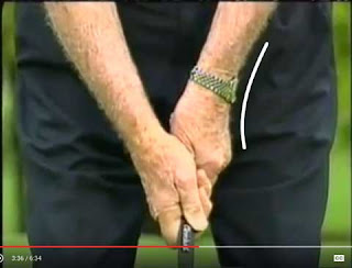 Byron Nelson's grip