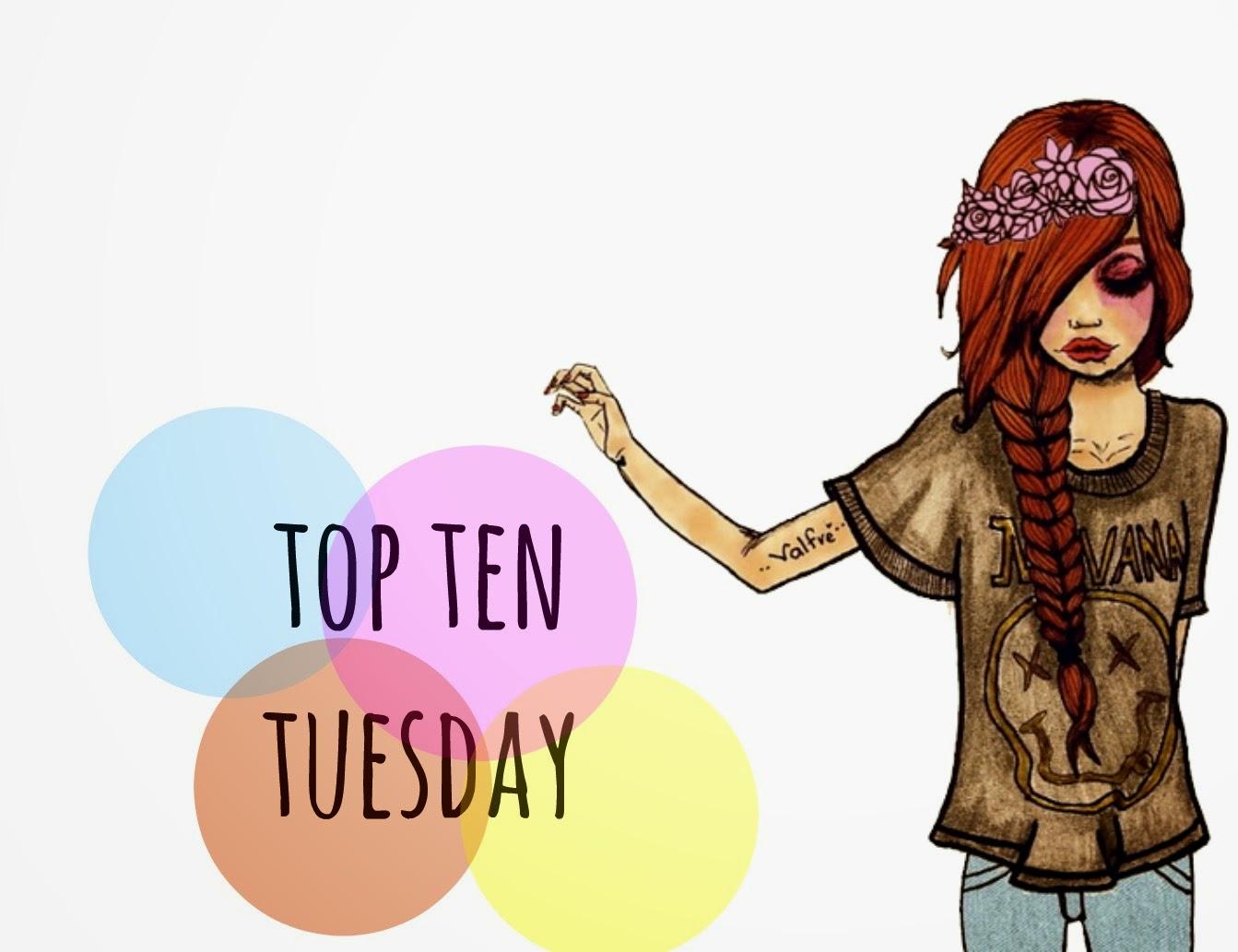 Top ten tuesday #1.Libros que siempre recomiendo.