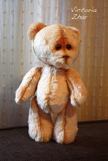 Victoria Zhar текстильная игрушка мишка тедди teddy