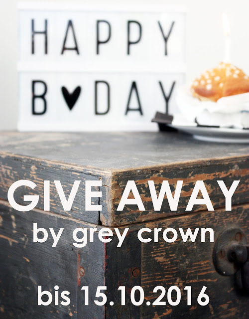 Give away bei GREY CROWN
