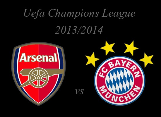 Arsenal vs Bayer Munich Champions League 2014