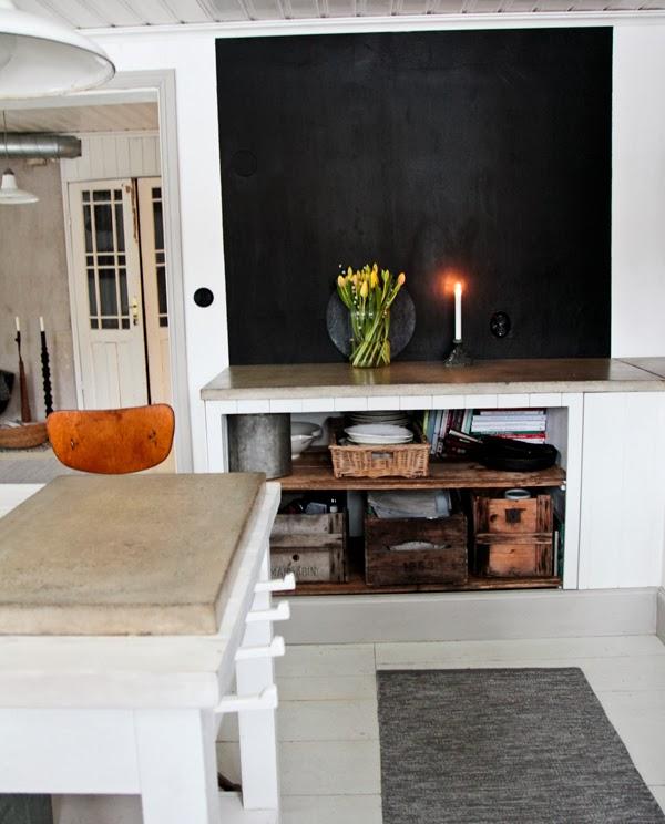 Vintage house januari 2014 - Lavagna cucina ikea ...