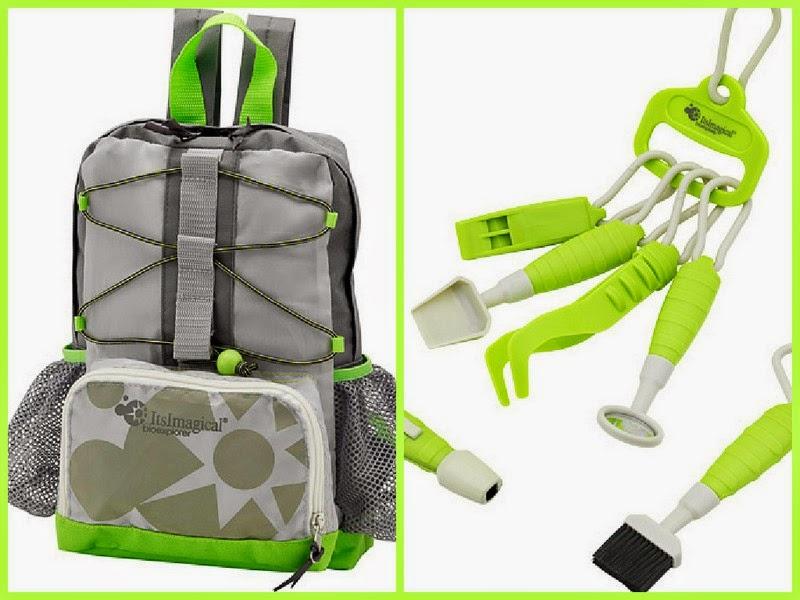 Mochila y kit de explorador