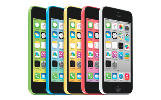iPhone 5C launch