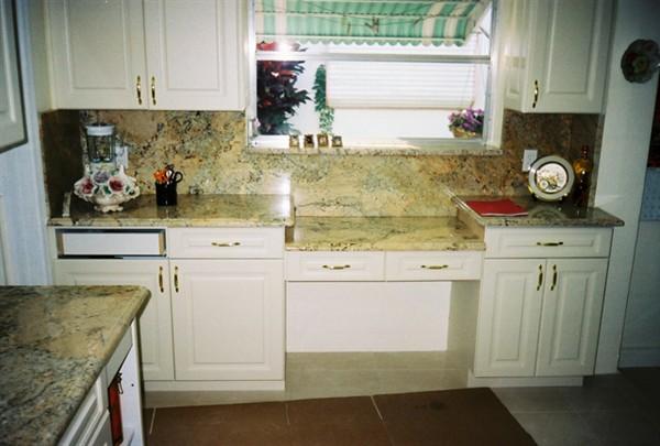 Encimeras de Granito y Muebles de Madera para la Decoración de ...