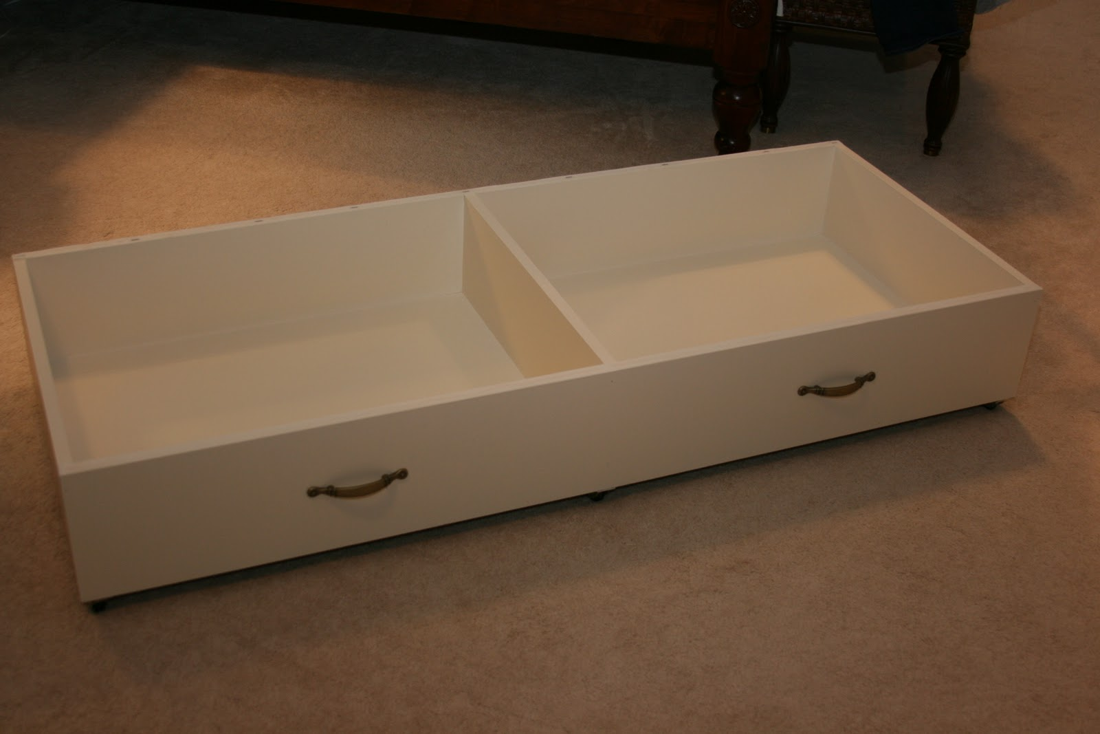 Harried Mom Of Four Crafty Under Bed Storage Drawers