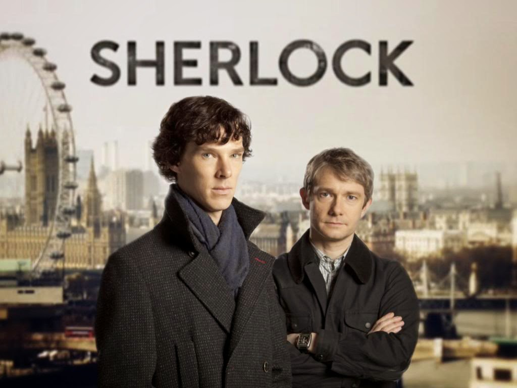 Sherlock Benedict Cumberbatch Martin Freeman