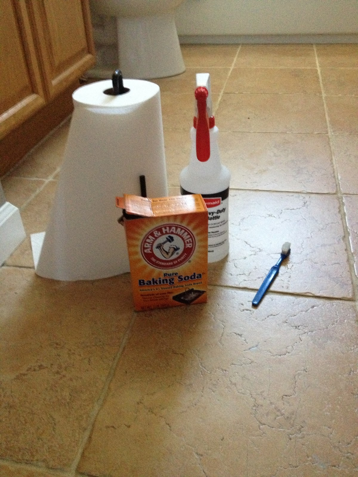 Baking Soda To Clean Grout