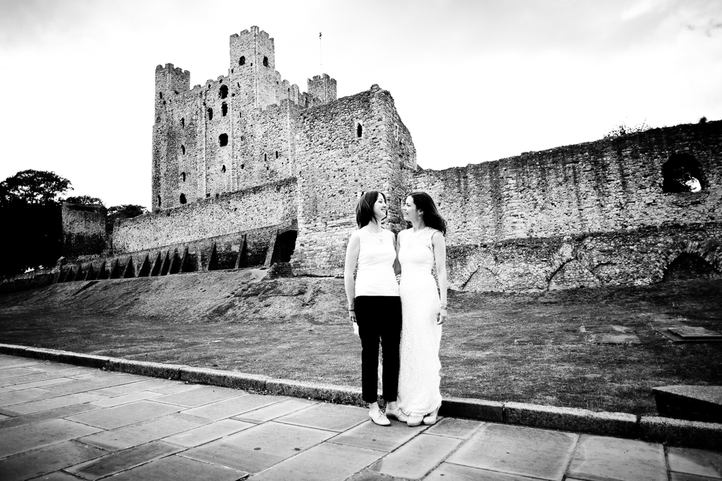 Rochester Castle Wedding Photography