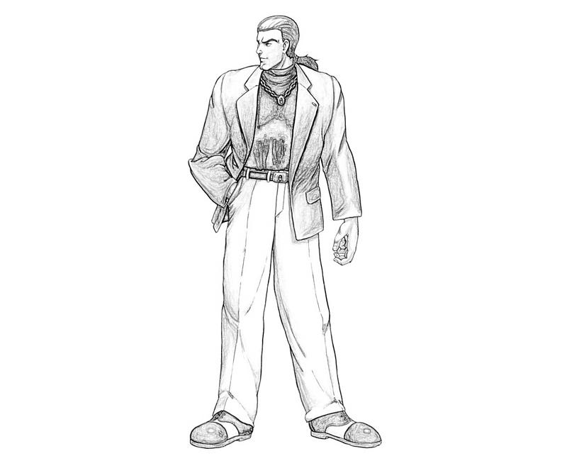 king-of-fighters-robert-garcia_ction-coloring-pages